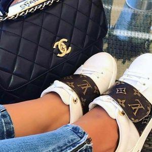 Louis Vuitton Sneakers & Chanel handbag